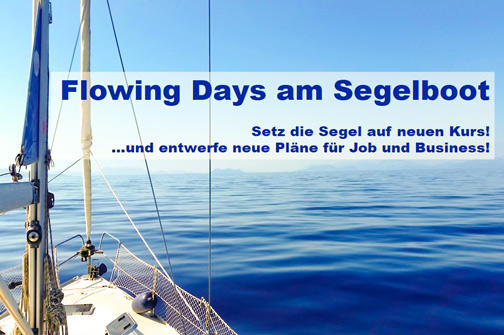 Karrierecoaching am Segelboot